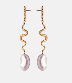 Maanesten Øreringe - Gia Earrings, Gold
