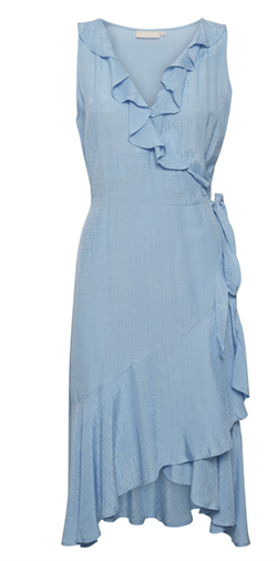 Karen By Simonsen Bluse - GlanceKB Dress, Placid Blue