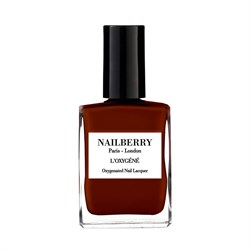 NAILBERRY Neglelak - Nailpolish L´OXYGÉNÉ, GRATEFUL - Deep Mulberry