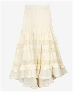 Mes Demoiselles Nederdel - Gretchen Skirt, White