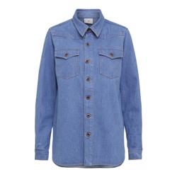 Julie Fagerholt - Heartmade Jakke - Javis, Light Denim Blue