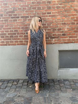 InWear Kjole - HannelW llsa Dress, Black Windy Dots