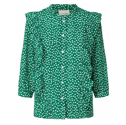 Lollys Laundry Bluse - Hanni Shirt, Green