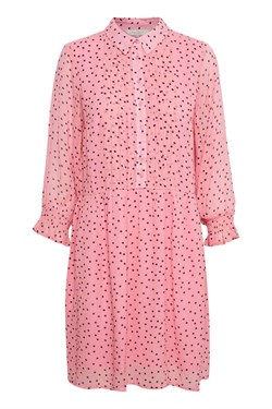 Part Two Kjole - HelfredPW Dress, Floating Dot Sea Pink