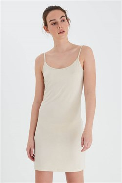 ICHI Strop kjole - IAluisa Slip Dress, Natural