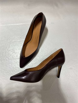 Anonymous Copenhagen Pumps - TRINI 80, Coffee Red