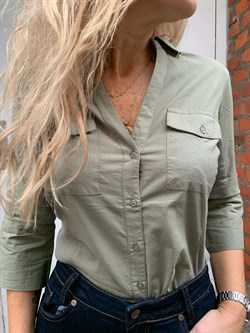 Part Two Bluse - CortniaPW Shirt, Vetiver