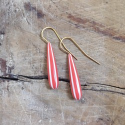 Pico Øreringe - Candy Drop Earrings, Red