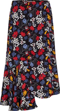 Just Female Nederdel - Ines Skirt, Flower Party