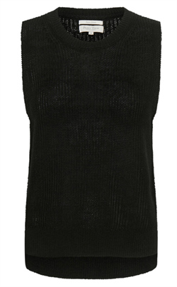 Part Two Vest - IniaPW Pullover, Black