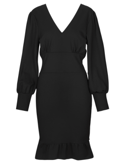 NOTES DU NORD kjole - Isadora Dress, Noir