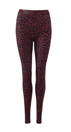 Black Colour Leggins, Jane Leo Leggins, Pink