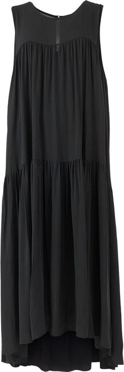 Black Colour Kjole, Kajsa Dress, Black