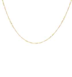 Anna+Nina Halskæde - Liana Plain Necklace Long, Goldplated