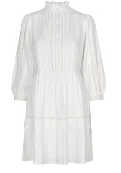 NOTES DU NORD Dress - Lindsey Short Dress, White