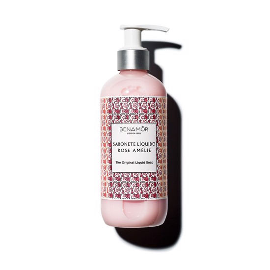 Benamor  - Sabonete Liquido Rose Amelie, Liquid Soap, 300 ml.