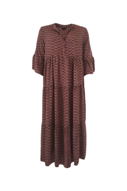 Black Colour Kjole - Luna Dress, Oriental Blush Orient