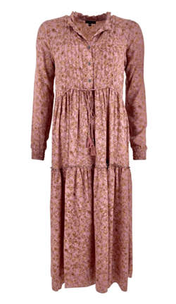 Black Colour Kjole - Luna Rose Boho Dress, Poetry Rose