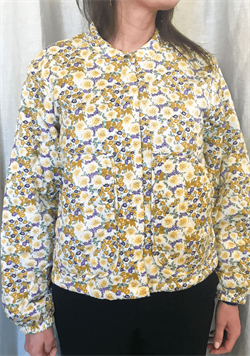 Lollys Laundry jakke - MASON JACKET, 74 Flower Print