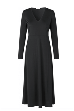 Notes Du Nord Kjole - Melanie V-neck Dress, Noir