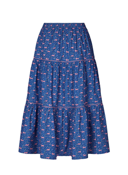 Lollys Laundry Nederdel - Morning skirt, Animal Print