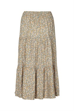 Lollys Laundry Nederdel - Morning skirt, Flower Print