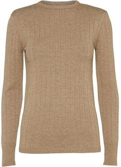 NORR Bluse - Randi Knit Top, Light Brown