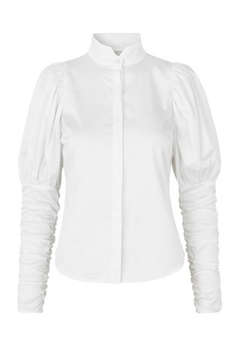 NOTES DU NORD bluse - Nila Shirt, White