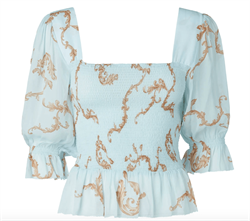 NOTES DU NORD bluse - Omega Blouse, Ornament