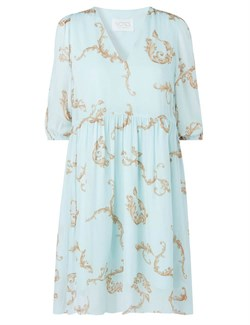 NOTES DU NORD Kjole - Omega Loose Dress, Ornament