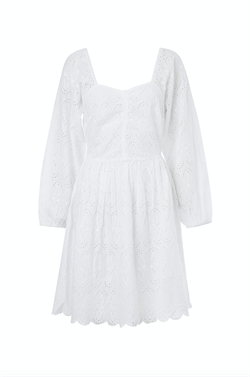 Notes Du Nord Kjole - Omia Dress, White