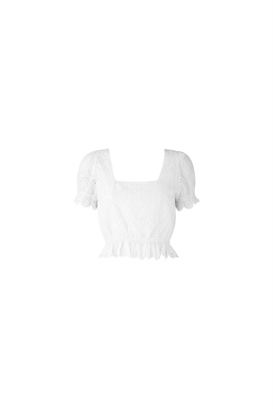 NOTES DU NORD Top - Omia Top, White