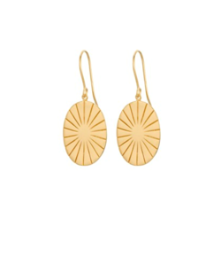 Pernille Corydon Øreringe - Era Earrings, Gold Plated