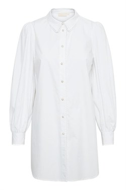 Karen By Simonsen Bluse - Philly Long Shirt, Bright White