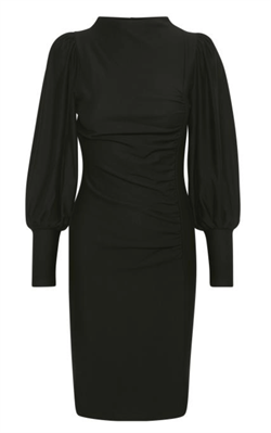 Gestuz Kjole - RifaGZ Puff Dress, Black