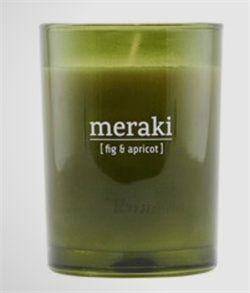 Meraki - SCENTED CANDLE, Fig og Apricot