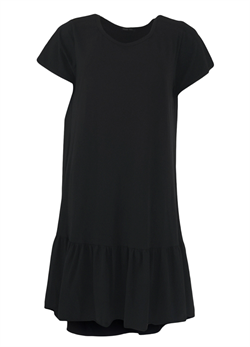 Black Colour Kjole - Sann Jersey Dress, Black