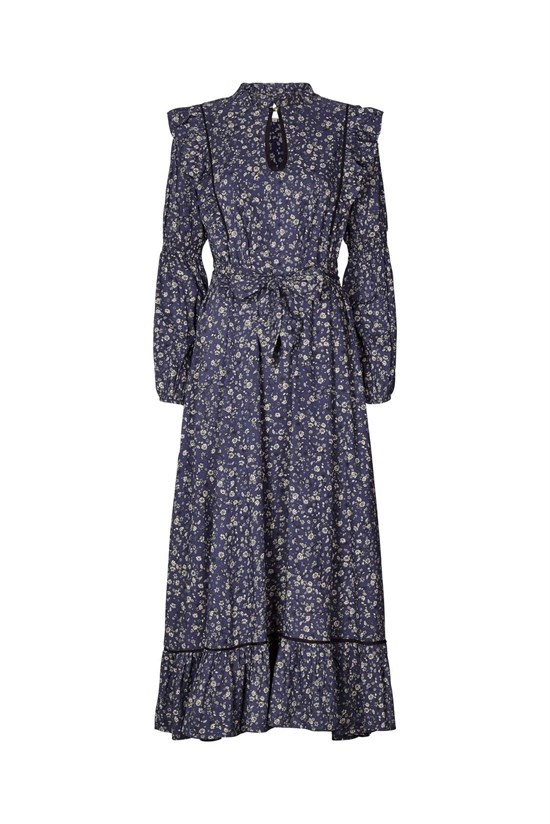 Lollys Laundry Kjole - Sanni Dress, Flower Print