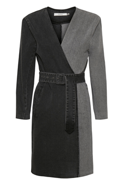 Gestuz Kjole - SillaGZ Blazer Dress, Washed Grey