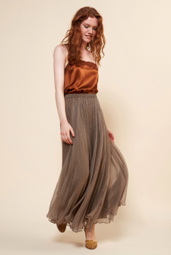 Mes Demoiselles Paris Nederdel - Shirley Skirt, Ocre