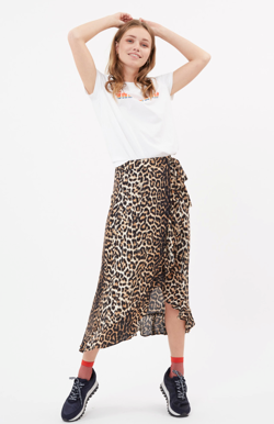 Moves By Minimum Nederdel - Florina Skirt, Bone