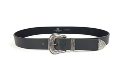 B-Low The Belt Bælte - Frank Belt, Black / Silver