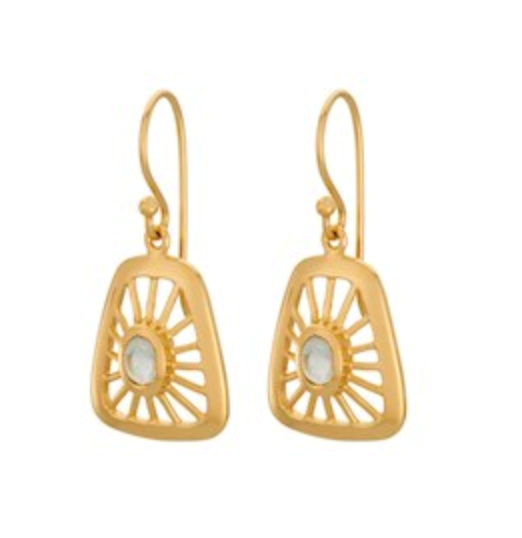 Pernille Corydon Øreringe - Thilde Earrings, Gold Plated