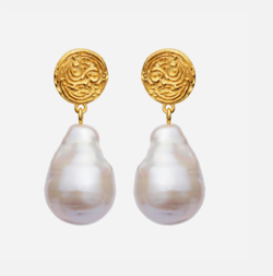 Maanesten Øreringe - Sansa Earrings, Gold
