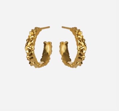 Maanesten Øreringe - Ayo petite Earrings, Gold