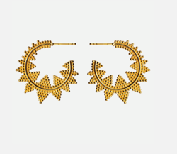 Maanesten Øreringe - Aida Earrings, Gold