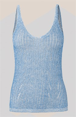 Second Female Top - NABU KNIT, Brunnera Blue