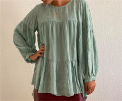 Black Colour Skjorte, Lexie Tunic, Mint