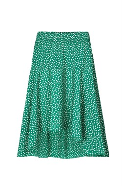 Lollys Laundry Nederdel - Bali Skirt, Green