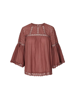 Lollys Laundry Bluse - BrandyÊBlouse, Dusty Mauve